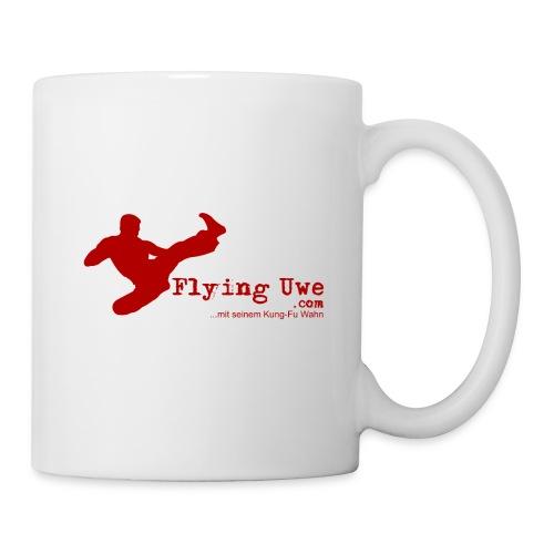 flyinguwe logo vektor kopie - Tasse