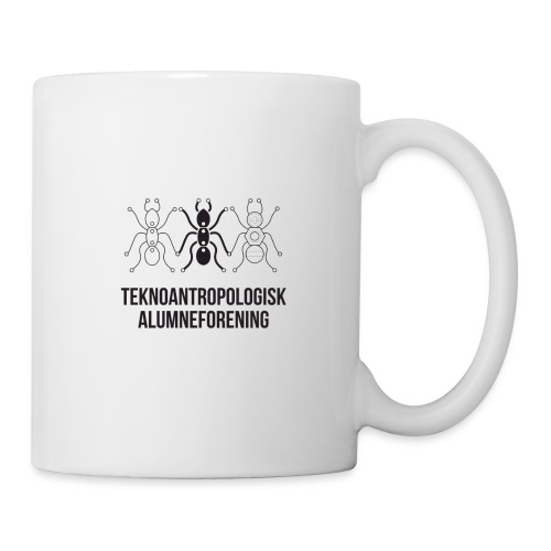 Teknoantropologisk Støtte T-shirt figur syet - Kop/krus