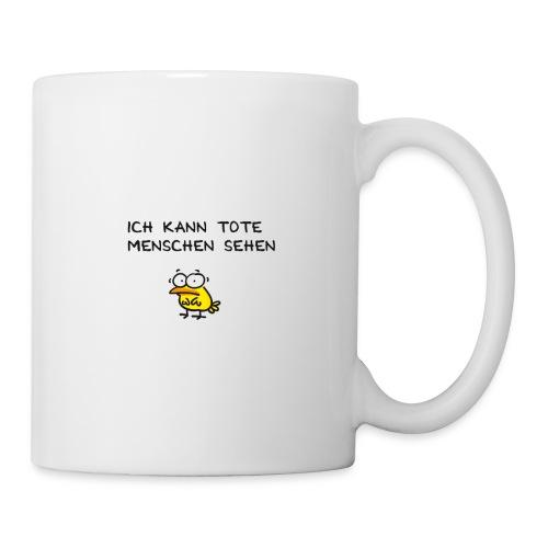 Sechster Sinn deutsch - Tasse