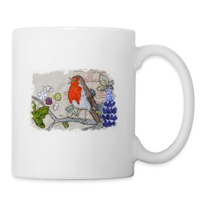 Robin with Ivy Design - Mug