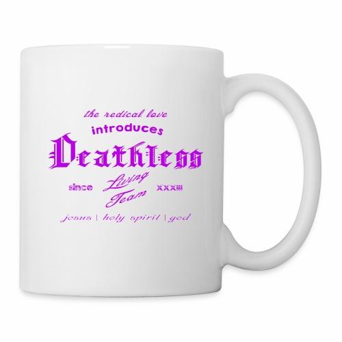 deathless living team violet - Tasse
