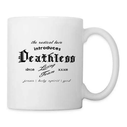 deathless living team schwarz - Tasse