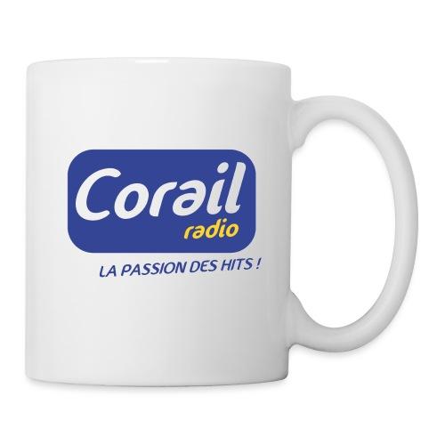 Logo bleu - Mug blanc