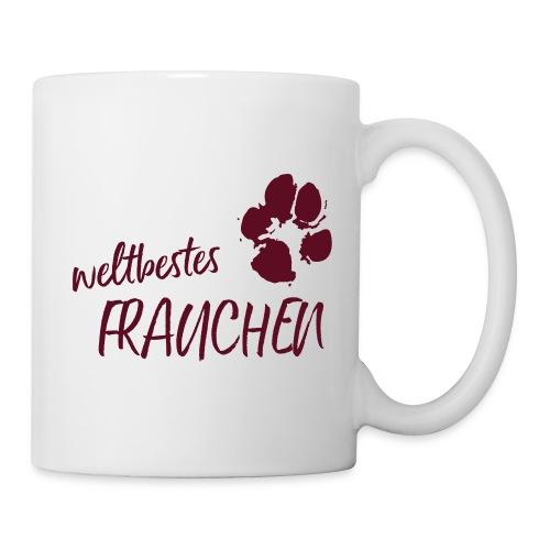 Vorschau: weltbestes Frauchen Pfote Hund - Tasse