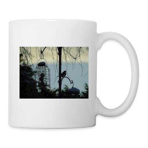 A winter bird - Mug