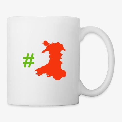 Hashtag Wales - Mug