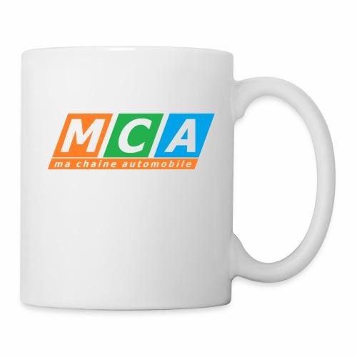 logo complet TRANSPARENT - Mug blanc