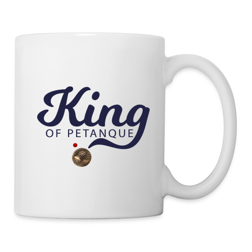 KING OF PETANQUE - Mug blanc