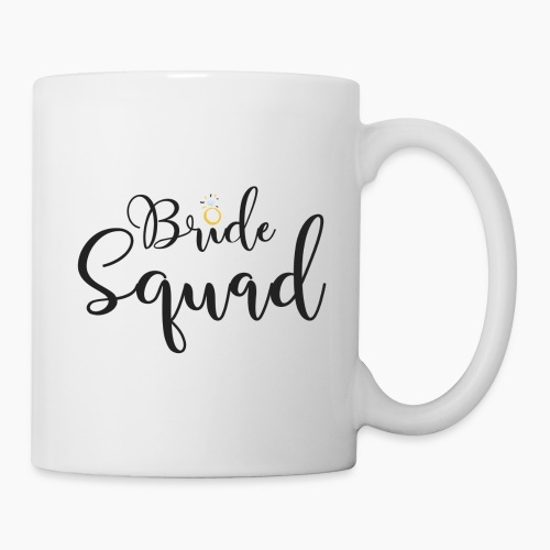 Bride Squad with Diamond Ring - Mug