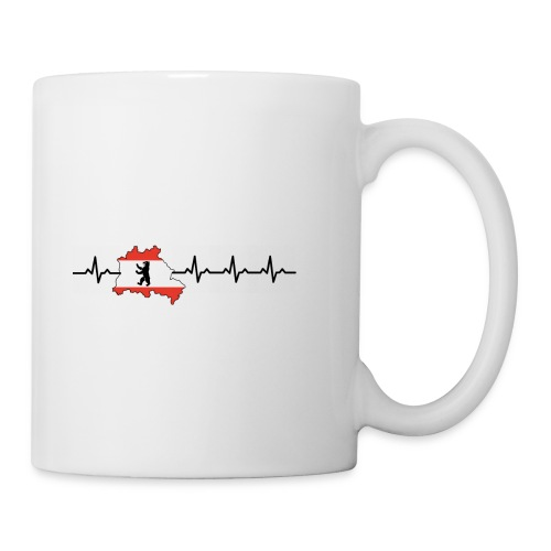 Heartbeat Berlin - Tasse