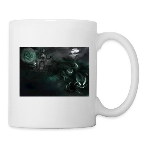 dark santa - Mug blanc