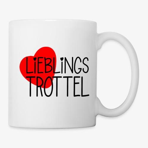 Lieblings-Trottel Geschenkidee Valentinstag - Tasse