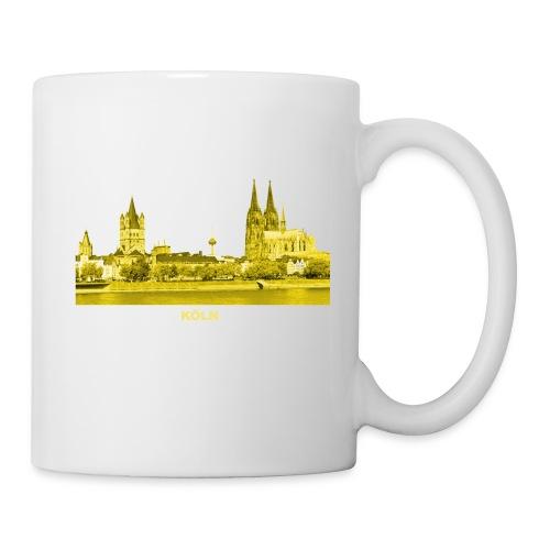 Köln Dom Rhein Nordrhein-Westfalen Deutschland - Tasse