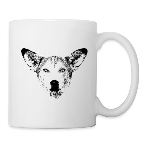 Podenco-Mischling / Hunde Design Geschenkidee - Tasse