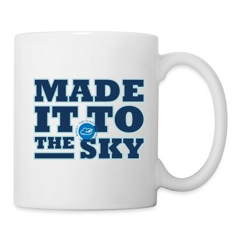 Made it to the sky (Dark blue) - Mug