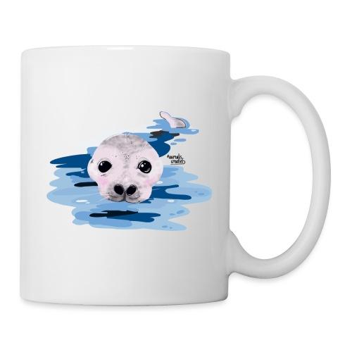 Loutre douce - Mug blanc