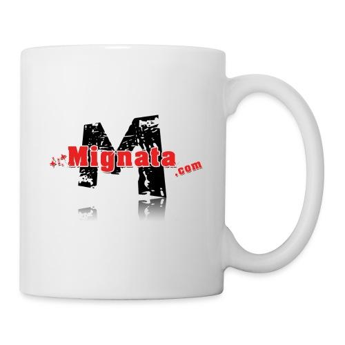 logo mignata - Mug blanc