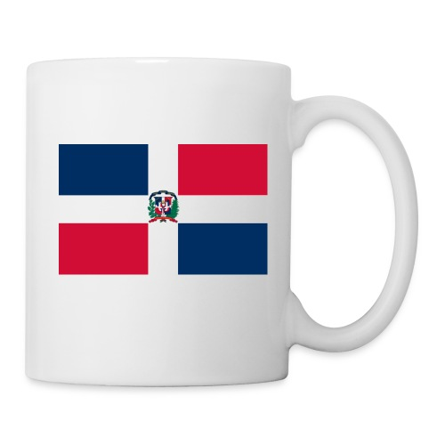 bandera de republica dominicana grande - Taza