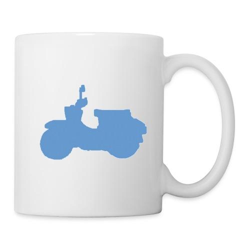 schwalbe blau gross - Tasse