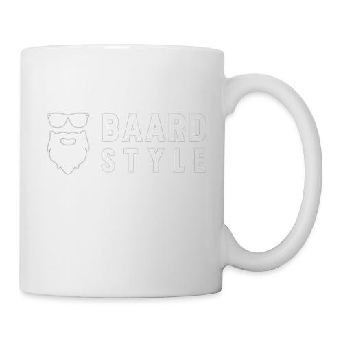 BaardStyle_1-white hoodie - Mok