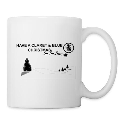 Claret and Blue Xmas - Mug