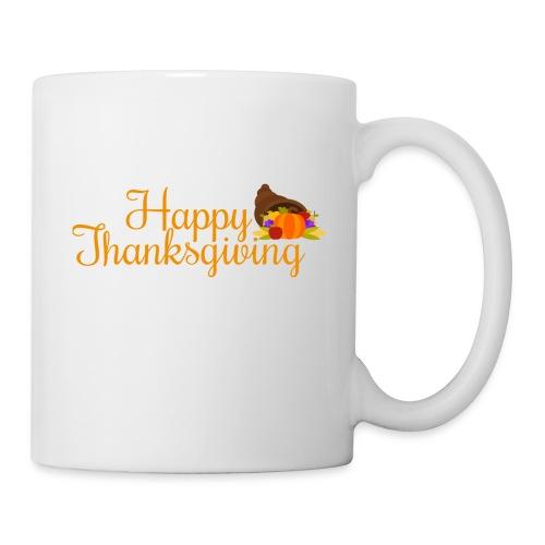 Happy Thanksgiving Words - Mug