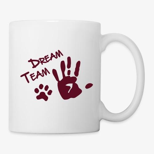 Dream Team Hand Hundpfote - Tasse