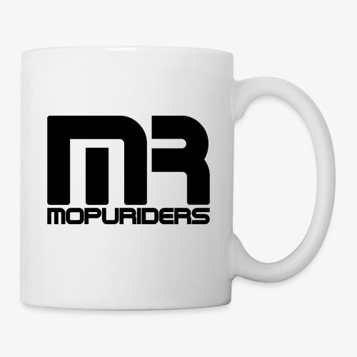 Mopuriders Schwarz - Tasse
