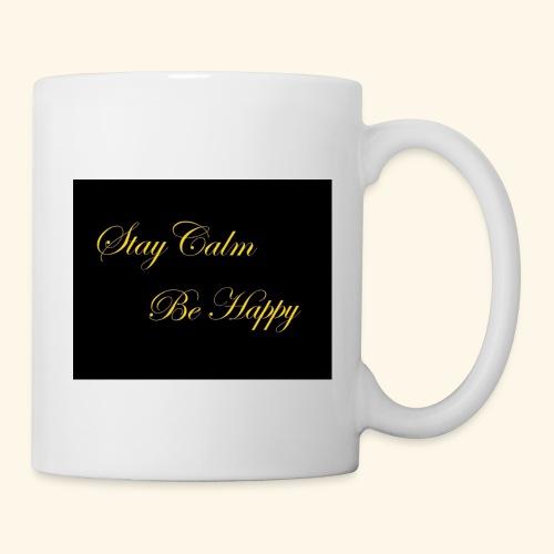Be Happy - Mug blanc