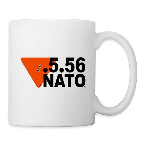 .5.56 NATO NOIR - Mug blanc