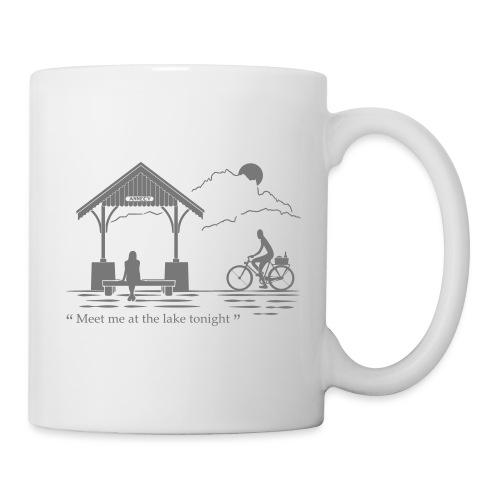 Meet me at annecy lake - Mug blanc