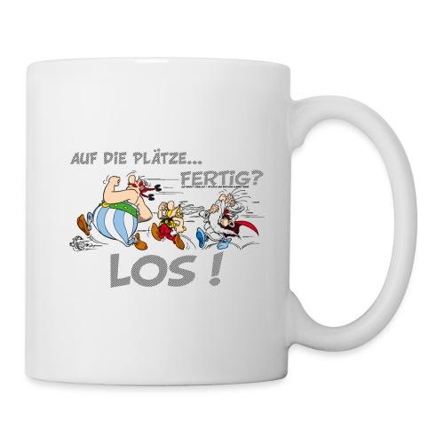 Asterix Obelix Auf die Plätze... Fertig? Los! - Mug blanc