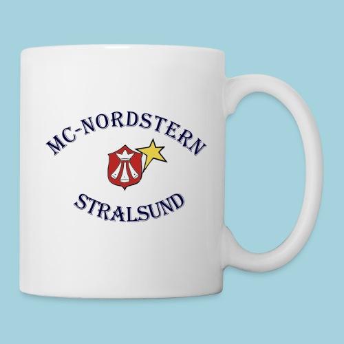 MC Nordstern Schrift gebogen - Tasse