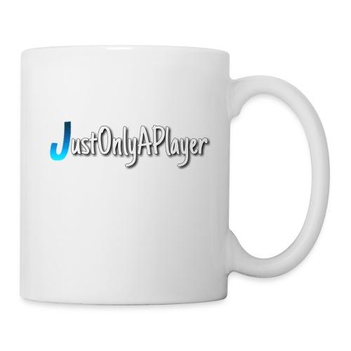 JustOnlyAPlayer Design Text - Tasse