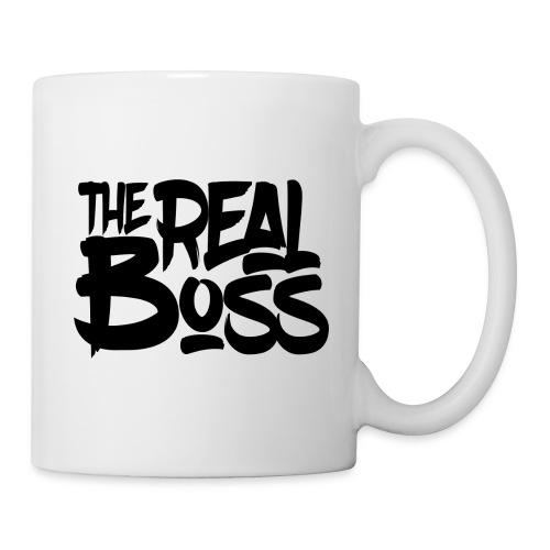 The real boss / Le vrai patron - Mug blanc