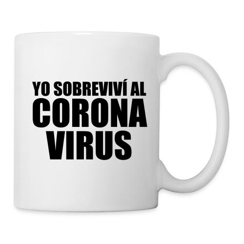 Yo sobrevivi al Coronavirus - Taza