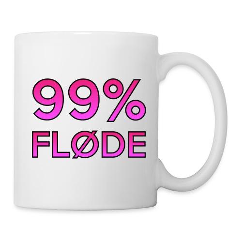 99% FLØDE - Kop/krus