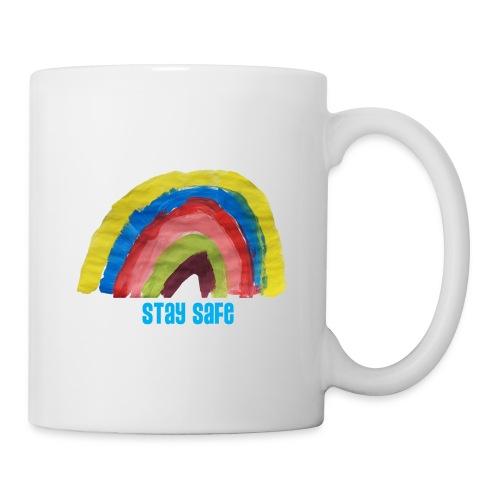 Stay Safe Rainbow Tshirt - Mug