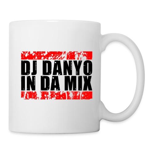DJ Danyo Logo weiß - Tasse