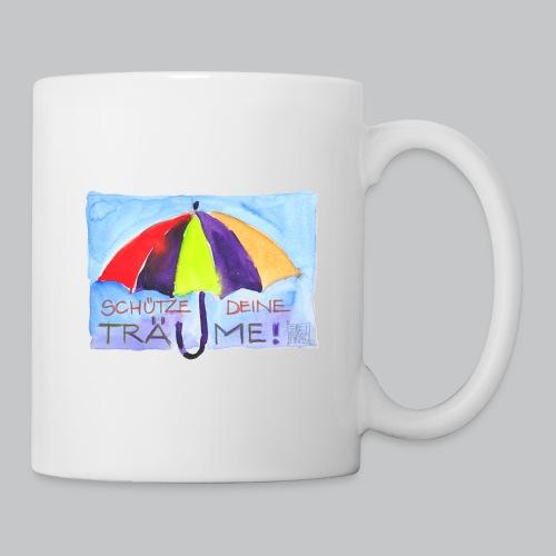 Schütze Deine Träume-Schirm - Tasse