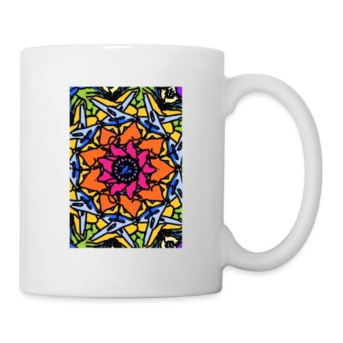 Psychedelic kaleidoscope #1 - Mug