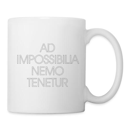 Ad Impossibilia Nemo Tenetur t-shirt avvocato - Mug
