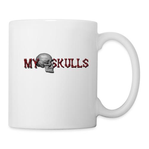 myskulls vorlage gross - Tasse