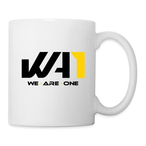 Wir sind eins (schwarze Schrift) - Tasse