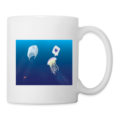 Meduse in Love - Mug blanc