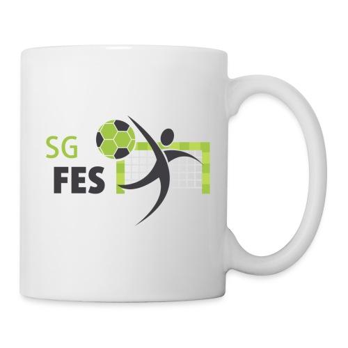fes logo bunt druck 180 - Tasse