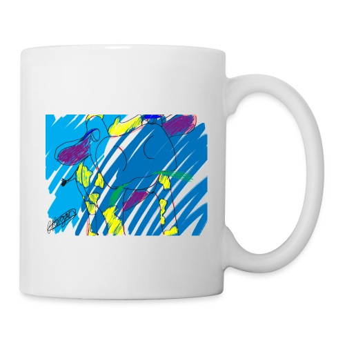 Signed Rainbow Cow - Mug