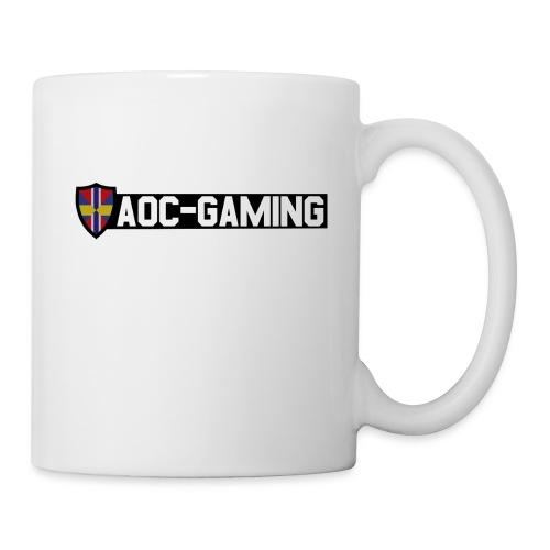aoc logo s tr - Mugg