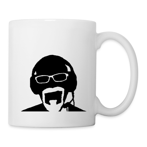 Face Gaming Black - Mug blanc