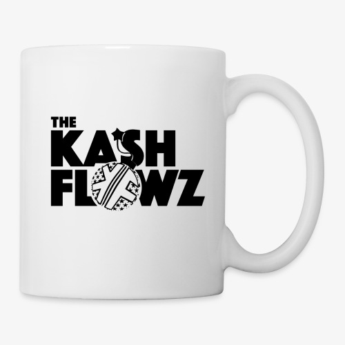 The Kash Flowz Official Bomb Black - Mug blanc